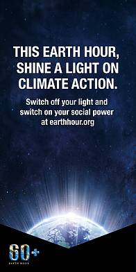 Shine A Light onClimate Action / ©: EarthHour