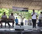 Ministro Celso Correia, Ministro Jorge Ferrão e Eng. Marcelino Foloma